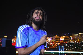 J. Cole Is Shooting A Music Video Right Now