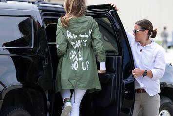 "Melania Trump Wanted To ""Drive Liberals Crazy"" With ""I Really Don't Care"" Jacket"