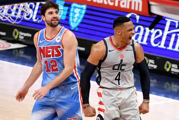 Wizards Score 8 Points In Final 8 Seconds To Upset Nets