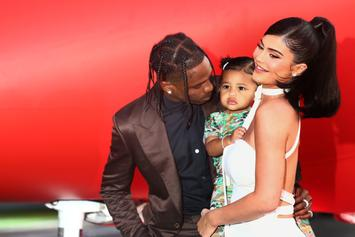 Travis Scott & Kylie Jenner Gush Over Daughter Stormi On Her Third Birthday