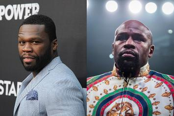 Floyd Mayweather Accepts 50 Cent's Challenge
