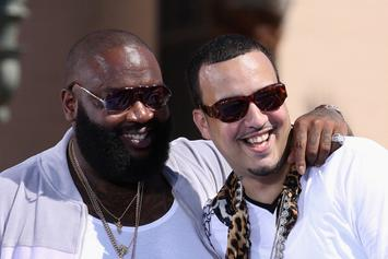 French Montana & Rick Ross Hit Up A Florida Club With CJ