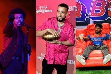 The Weeknd Turns Up With French Montana & Bryson Tiller Post-Halftime Performance