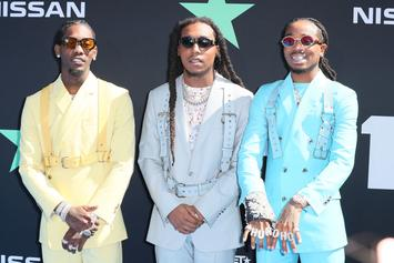 """Migos Return To """"Culture 3"""" Grind After Super Bowl Field Trip"""