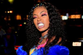 Asian Doll Debuts Flashy New Diamond-Encrusted Grill