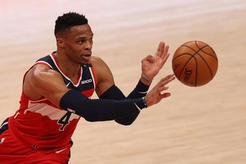 Russell Westbrook Perplexed By His Own Airball