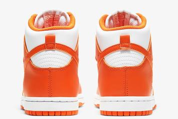 "Nike Dunk High ""Syracuse"" Coming Soon: Official Photos"