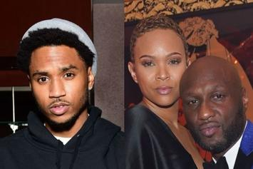 Trey Songz & Lamar Odom's Ex Sabrina Parr Linked Up At The Club