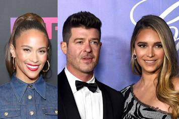 Robin Thicke Attends Therapy Sessions With Fiancé April Geary & Ex-Wife Paula Patton