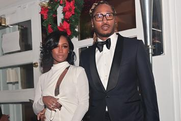 Future Surprises Dess Dior With Massive Diamond Ring Post-Valentine's Day