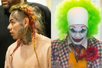 6ix9ine Compares Himself To The Joker
