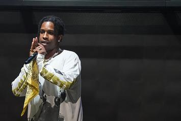A$AP Rocky Is Working On His Next Album