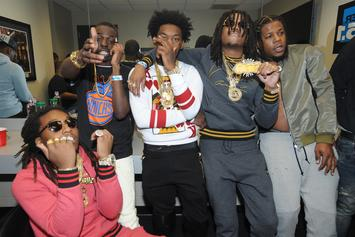 Quavo Gifts Rowdy Rebel Stacks Of Cash As A Welcome Home Present