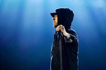 """Eminem Reacts To """"Lose Yourself"""" Hitting A Billion"""
