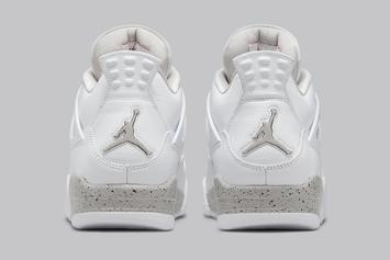 """Air Jordan 4 """"White Oreo"""" Gets Official Images: Release Info"""