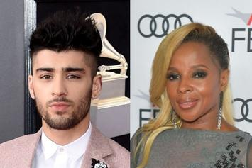 """Mary J. Blige Receives Praise From Zayn After He Admits To Crying Through """"Mudbound"""""""