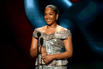"""Tiffany Haddish Surprised With Grammy Win While On Set: """"Are You Serious?"""""""