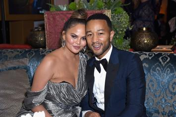 Chrissy Teigen Posts Topless Pic Of Her & Son Miles, The Internet Reacts
