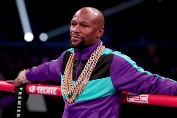 Floyd Mayweather Sends A Message Prior To Logan Paul Duel