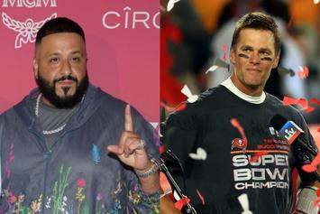 "DJ Khaled Sends Tom Brady Exclusive ""Khaled Khaled"" Merch"