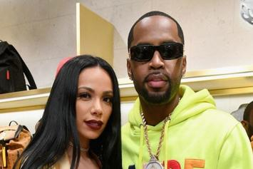 Erica Mena Surprises Safaree Samuels With Jamaican Backyard Celebration