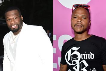 """50 Cent Takes Aim At """"Snowfall"""" Actor De'Aundre Bonds: """"F*ck Outta Here"""""""