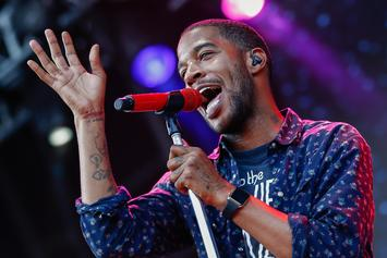 Kid Cudi Hits The SNL Stage In A Floral Off-White Dress