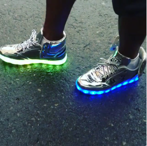 The New Starbury Sneakers Light Up To The Beat Of Your Music 42ecd2f35