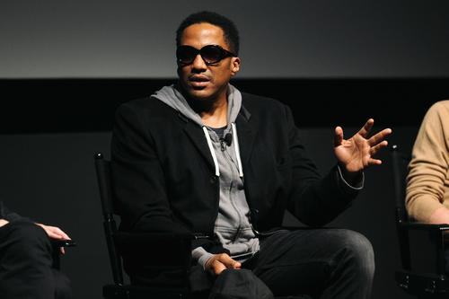 Q-Tip speaks onstage during Tribeca Talks Industry: Music + Film hosted by American Express on April 23, 2013 in New York City.