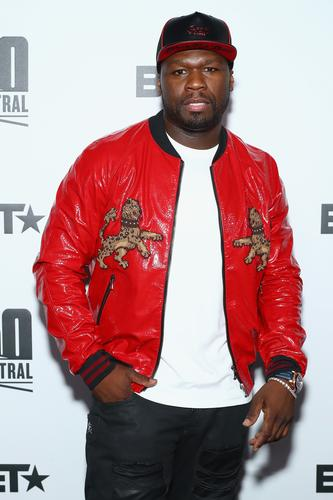 50 Cent at BET 50 Central Premiere Party