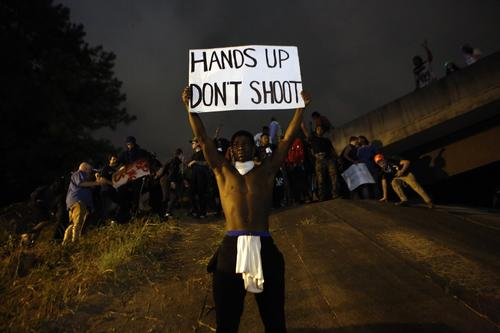 Protest over shooting of unarmed man overtakes freeway