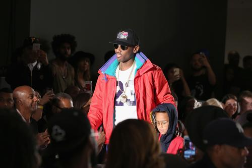 Fabolous and son Johan attend BET Digital Presents, How To Rock: Kicks at Milk Studios on August 27, 2015 in New York City