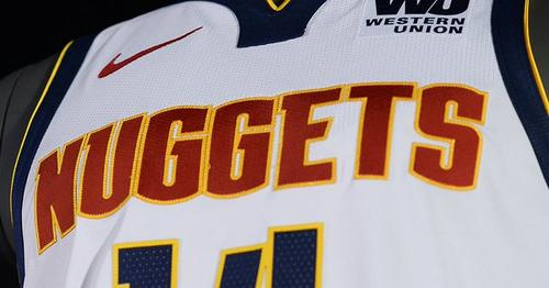 Denver Nuggets Unveil New Uniforms ed18d6bc2