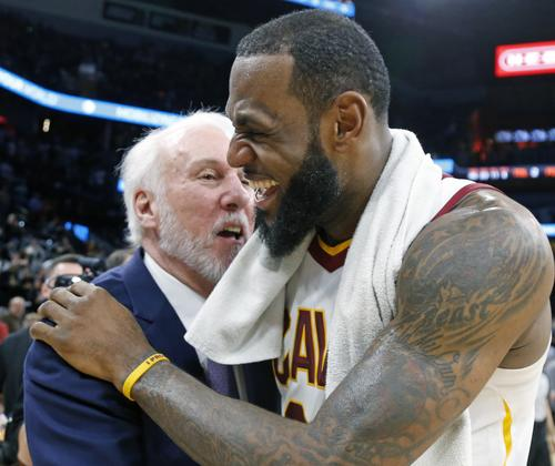 ec3a579f59bc Gregg Popovich Reportedly Wants LeBron James To Hear His Free Agent Pitch