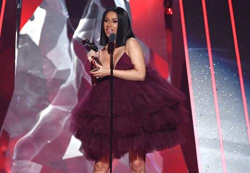 e95805733cc7 Cardi B Wore A  20 Target Dress Because She Loves Her A Good Bargain