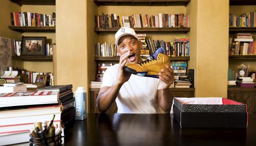 on sale 6d810 f4084 Will Smith Unboxes Exclusive