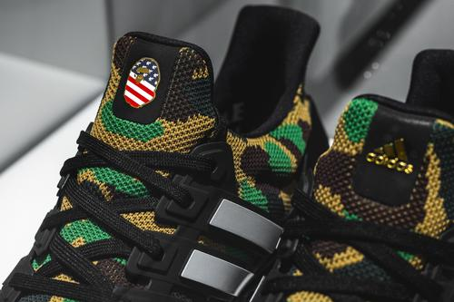 24a619468b60 BAPE x Adidas UltraBoost Releasing In Two Colorways  First Look