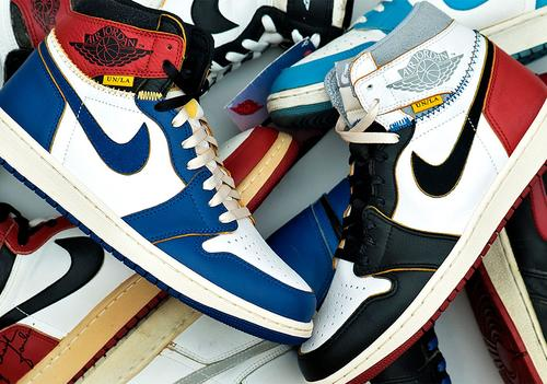 01000b539a36b Union x AJ1. Image via SneakerNews. Yeezys ...