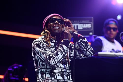 Lil Wayne performs onstage during the 4th Annual TIDAL X: Brooklyn at Barclays Center of Brooklyn on October 23, 2018 in New York City.