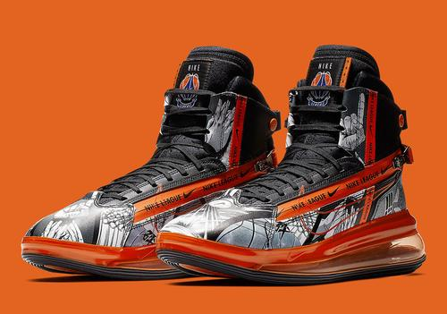 720 Basketball Nike Air Max Saturn Decorated Gets In
