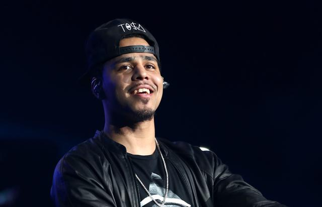 J. Cole at the 2013 BET Experience