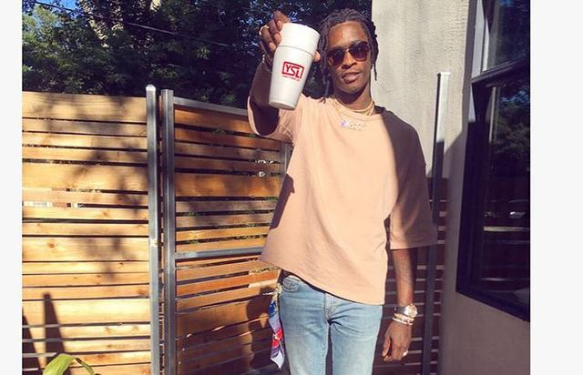 Young Thug w double cup