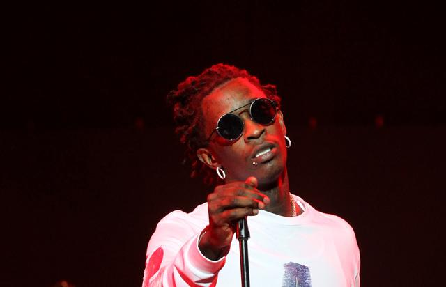 Young Thug at the 2017 BET Experience