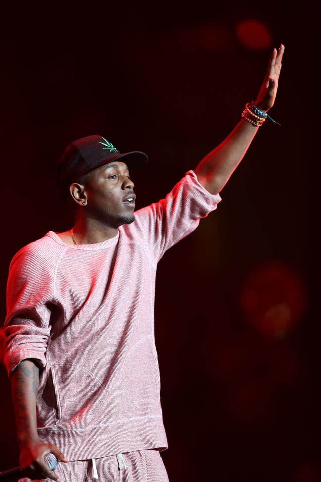 Kendrick Lamar at the 2013 BET Experience