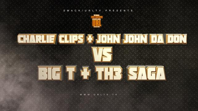 Big T & Th3 Saga vs Charlie Clips & John John Da Don