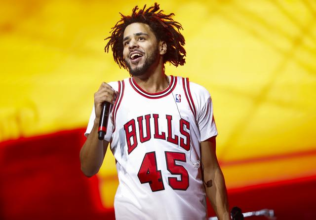 J. Cole at 2016 Lollapalooza