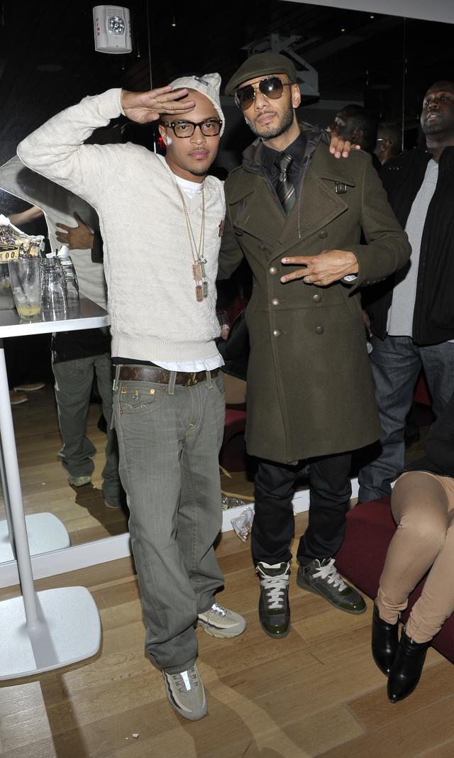 Swizz Beatz and T.I.