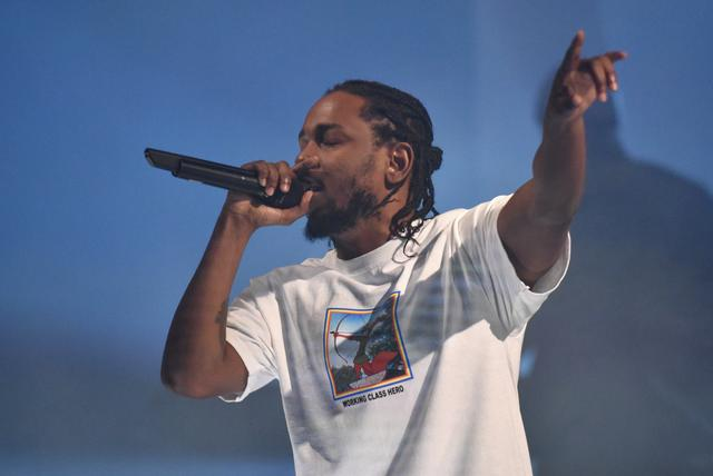 Kendrick at an American Express event