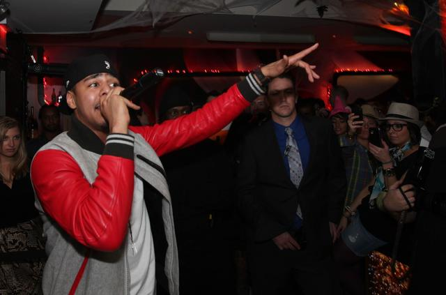 J. Cole at VEVO event
