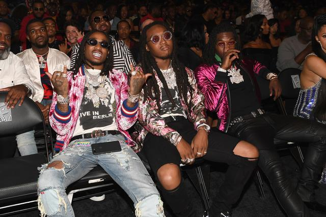Takeoff, Quavo and Offset at the BET Awards